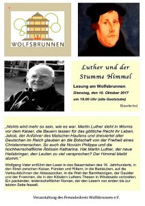 Luther-Plakat